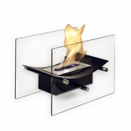 Bow Black Table Fire