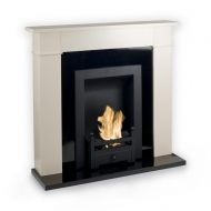 OUT OF STOCK -Carrington Cream Traditional Bio Ethanol Fireplace