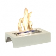 Small Burner with White Holder