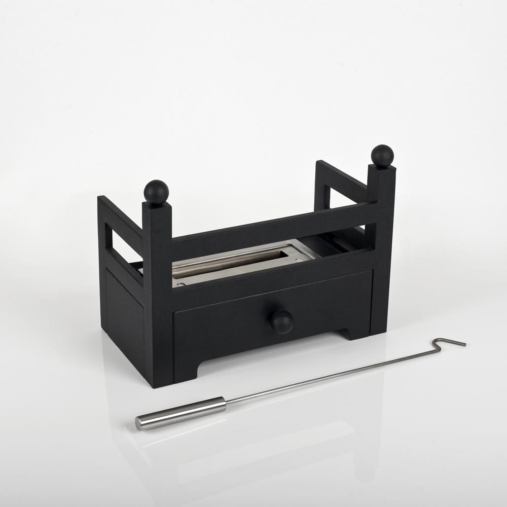 Mini-Basket Insert for DIY bio fireplaces