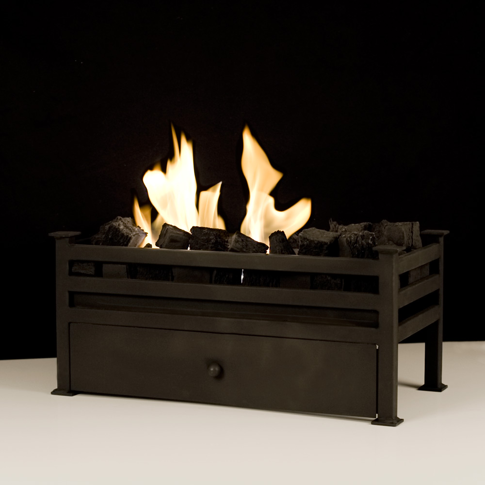 Large Traditional Montagu Bio Fire Basket