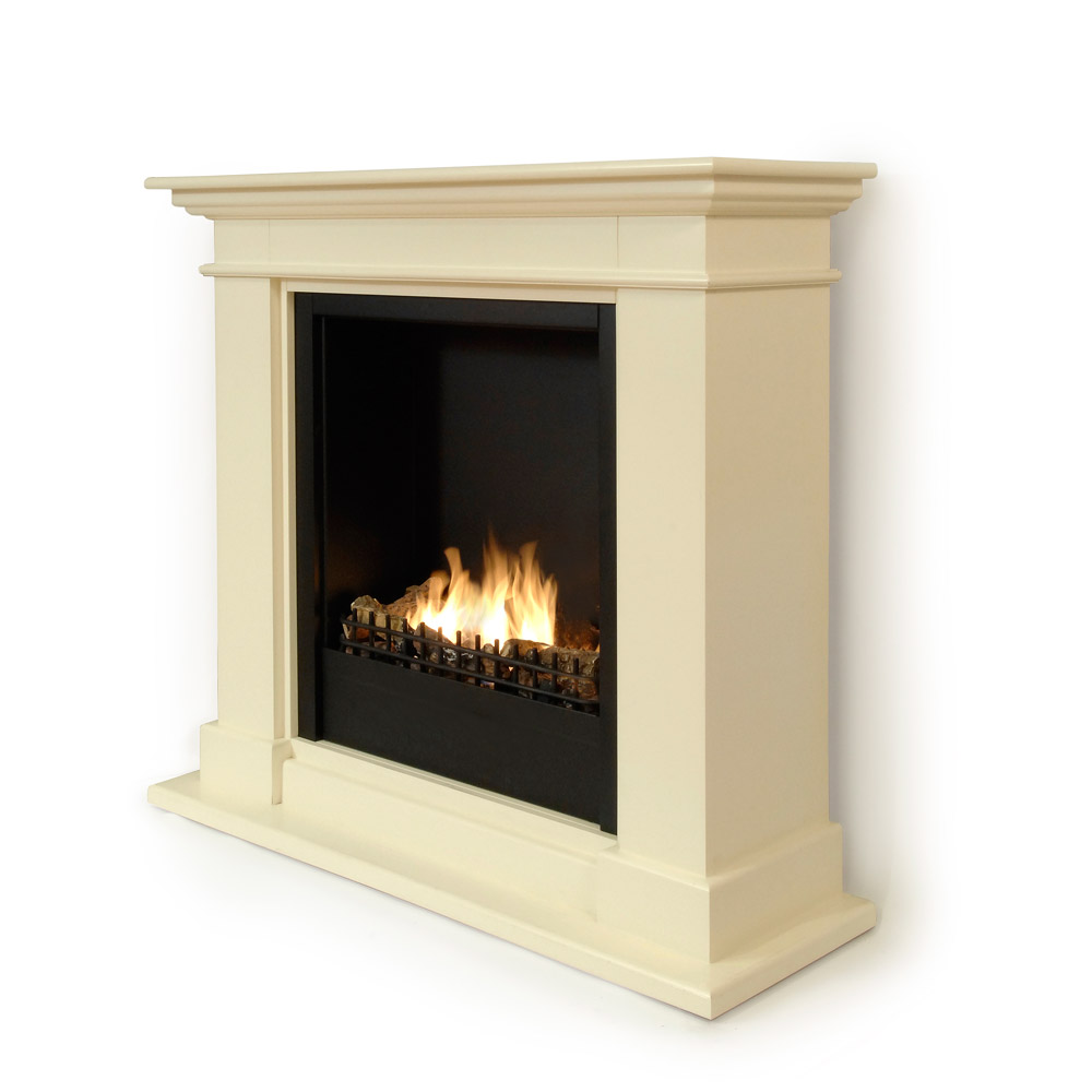 Roma II Bio Fireplace