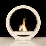 NEW - Globe Flame - White