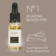 No. 1 - Blazing Wood Fire