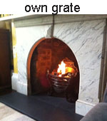 Own grate diy gel fire